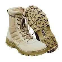 Спорт Армия мужские Тактические Ботинки Пустыни Открытый Походы Кемпинг Военные Энтузиасты Морские Мужчины Combat Обувь Рыбалка Куликов