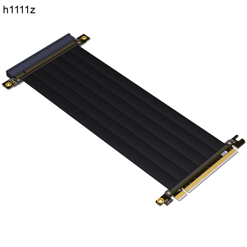 Gen3.0 PCIE PCI E PCI-E 16x to 16x Riser Extension Cable Graphics CARD PCIe x16 Elbow Design Customize for GTX 1080TI FULL SPEEDGen3.0 PCIE PCI E PCI-E 16x to 16x Riser Extension Cable Graphics CARD PCIe x16 Elbow Design Customize for GTX 1080TI FULL SPEED