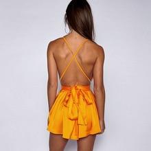 Spaghetti Strap Satin Dresses