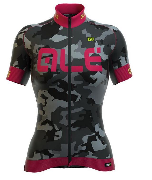 3c1660f45 Ropa ciclismo pro team 2018 ALE manga Curta bib Camisa de ciclismo homem e  mulheres de verão corrida de Bicicleta Sportswear Quick seca