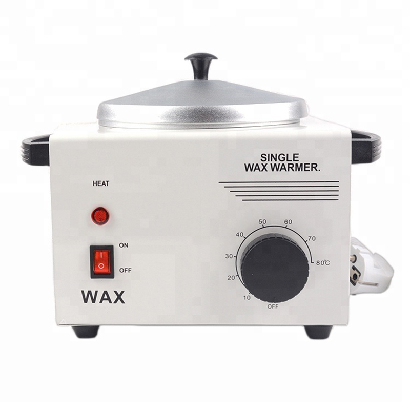 MEIERLI Single Pot Depilatory Wax Warmer Machine Paraffine Heater For Hand And Feet SPA Epilator Hair Removal Tool