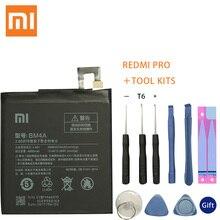 Xiao Mi Phone original Battery 4000mAh BM4A Batteries for Xiaomi Hongmi Redmi Pro Battery+ToolS