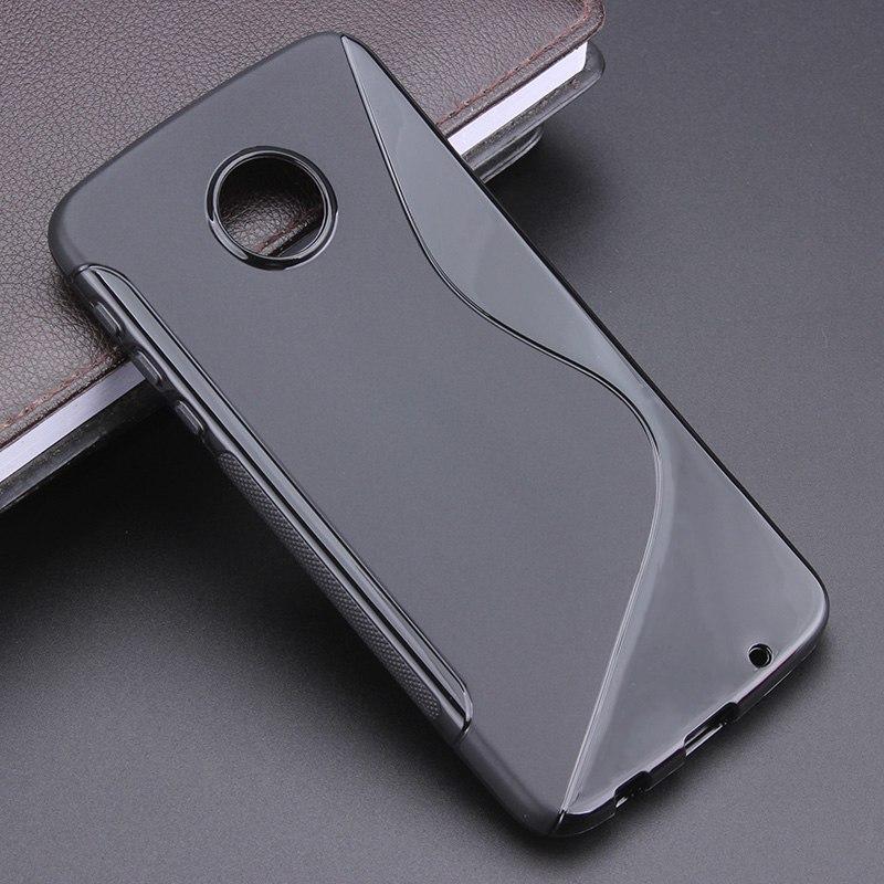 8 расцветок S линии противобуксовочные гель ТПУ тонкий мягкий чехол для Motorola <font><b>Moto</b></font> Z Play xt1635 5. 5 &#8220;телефон резиновый мешок