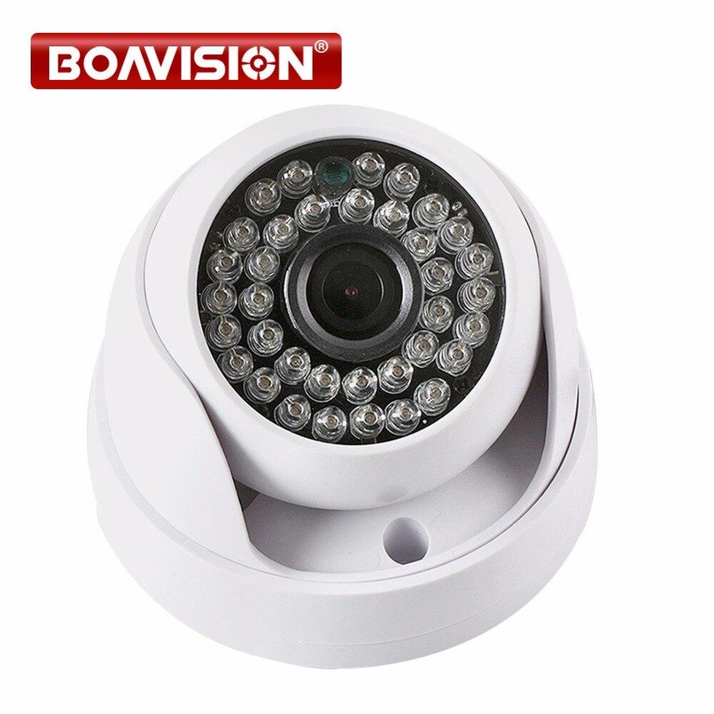 MINI 1MP 2MP AHD CCTV Caméra 720 P 1080 P de Sécurité IR 20 M nuit vision Travail Analogique HD Surveillance 2000TVL Dôme Caméra Pour AHD DVR