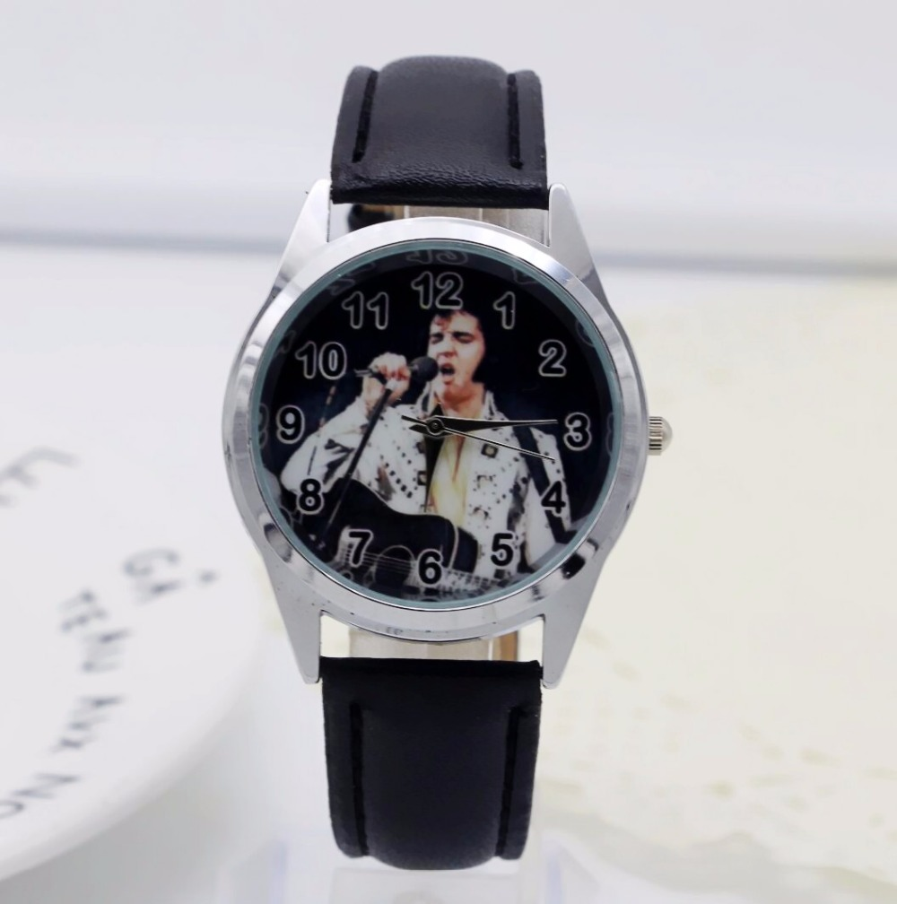 New Fashion Elvis Presley Watches Children Kids Boys Gift Watch Students Casual Quartz Wristwatch Relogio Relojes
