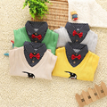 Promotion,New arrival 2015 Spring/ Autumn Children boy sCasual cotton Sweaters,Fit for 2-6 Years kids