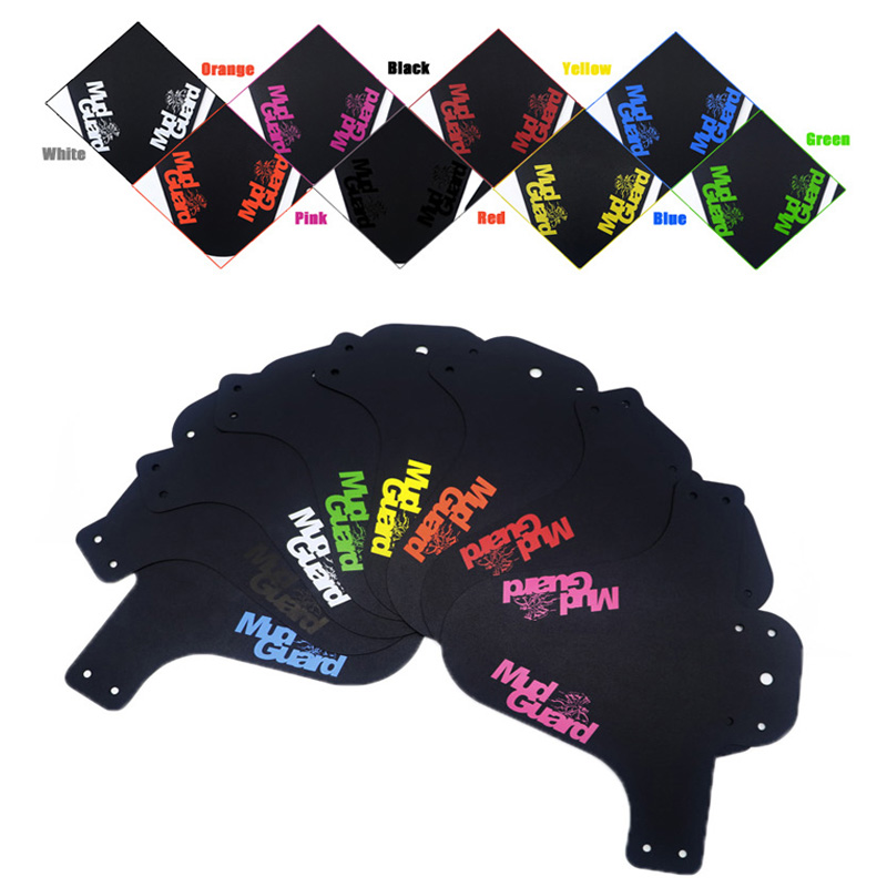 Colorful MTB Road Bike Mud Flaps Cycling Bicycle Wings Front Bicycle Mudguard Mountain Bicycle Fenders Cycling Accessories
