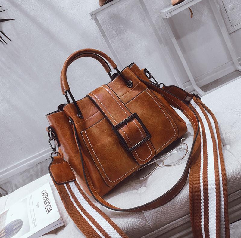 New European and American style vintage PU women handbag shoulder bag messenger bag 97