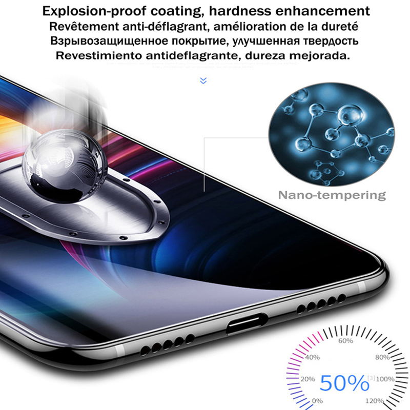 Image 2 - 9D Redmi 7A Glass Protective Glass On For Xiaomi Redmi 7A Screen Protector Tempered Glass Full Cover xiomi xiami ksiomi redmi 7a-in Phone Screen Protectors from Cellphones & Telecommunications