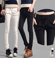 White Black High Waist Slim Harem Pants Women 2016 Spring New Fashion Women Pencil Pants Casual Lulu Leggings Trousers For Women