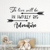 Exquisite Adventure Wall Sticker Removable Wall Stickers Diy Wallpaper Kids Room Nature Decor Vinyl Art Decals
