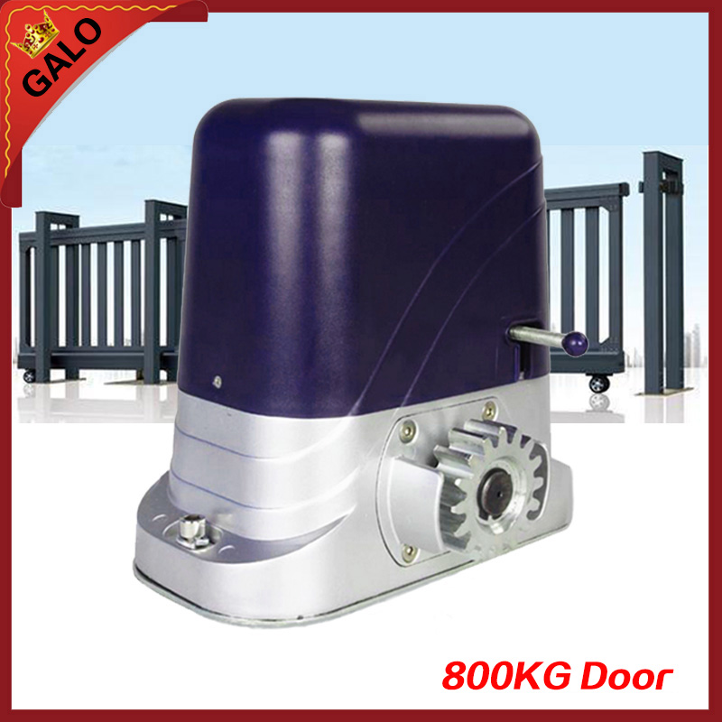 GALO home use 500-1200kg door loading Automatic electric sliding gate opener The main brain a set factory price for the driving 300 kgs sliding gate opener villa automatic door machine con maquinas inteligentes abre la puert