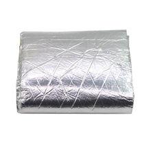 100x 250cm Heat Killer Noise Deadener Muffler Mat Foil Shield Deadener Insulation Mat Aluminum Cotton Car-Styling high quality 32 x18 80cmx46cm car auto aluminum heat sound insulation proof shield foil dampening damper deadener mat