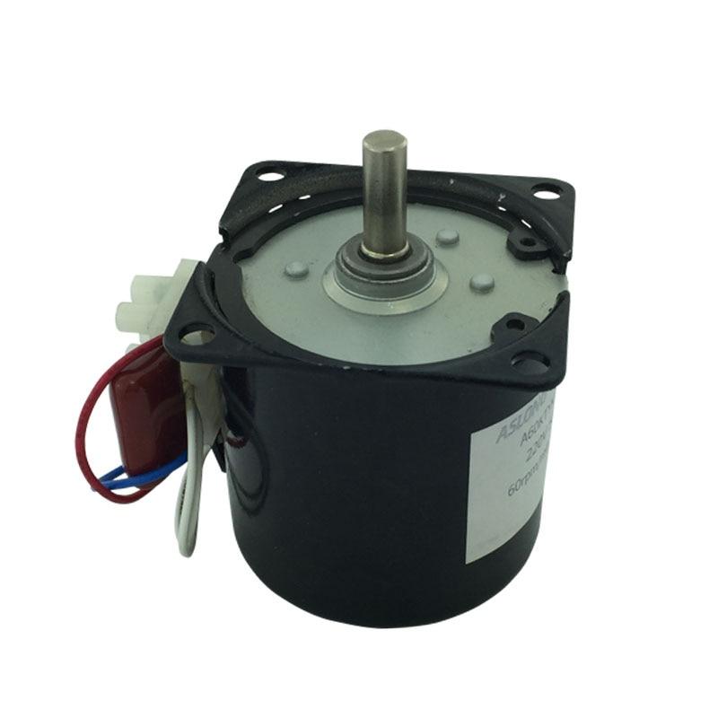 60KTYZ gear reduction synchronous motor Synchronous motor AC synchronous motor 220V 2.5RPM-110RPM 60ktyz motor