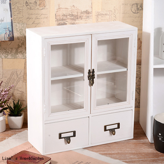 Exceptionnel Cute Beautiful Handmade Tabletop Standing Vintage Wood Mini Cabinet With  Doors Drawers In Living Room Cabinets From Furniture On Aliexpress.com |  Alibaba ...