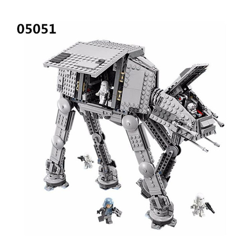 StarsWars The Force Awakens AT-AT Transpotation Armored Robot Blocks Bricks Toys for Boys Compatible with 75054 Gifts dimm ddr4 8гб kingston hyperx fury black hx429c17fb2 8