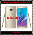 "Samsung Galaxy Note 5 N920P Sprint Версия Оригинала Разблокирована 4 Г LTE GSM Android Сотовый Телефон Окта основные 5.7 ""RAM 4 ГБ ROM 16MP 32 ГБ"