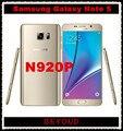 "Samsung galaxy note 5 n920p sprint versión original desbloqueado 4g lte gsm teléfono celular android octa core 5.7 ""16MP de RAM 4 GB ROM 32 GB"
