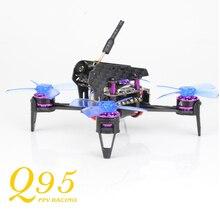 Mengagumkan 48CH Q95 95mm 5.8G 25 mW PNP Kamera 600TVL FPV Dengan F3 10A Blheli_S 1103-7500KV Motor Luar Mainan Balap Drone Bingkai Kit
