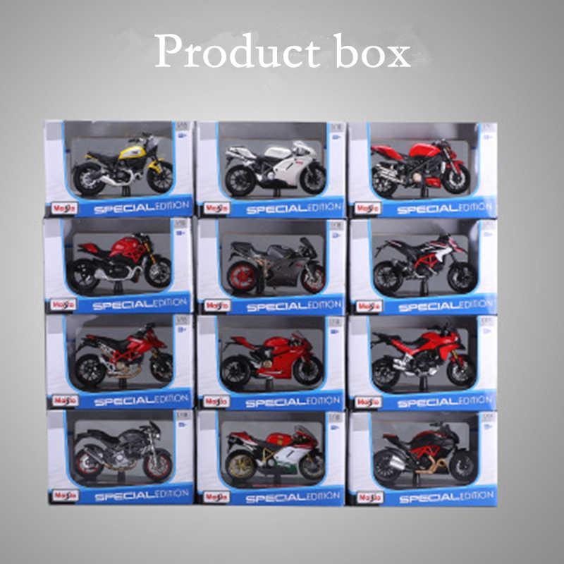Maisto 1:18 16 スタイルドゥカティ大悪魔オリジナル認可シミュレーション合金オートバイモデルおもちゃの車のギフトコレクション
