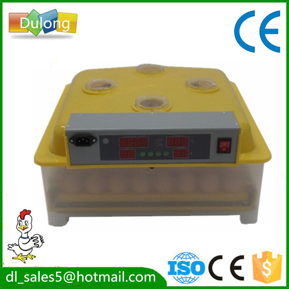 Household mini 48 egg incubator automatic machine for sale CE approved AU EU free shipping stainless steel automatic egg roll machine for sale