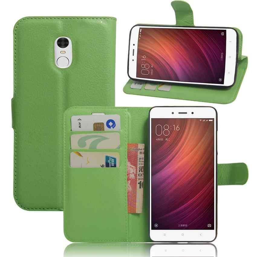 Redmi הערה 4 ארנק Flip טלפון מקרה עבור Xiaomi Redmi הערה 4 Note4 ארנק טלפון תיק עם כרטיס חריצים מצויד מקרה כיסוי אחורי Fundas