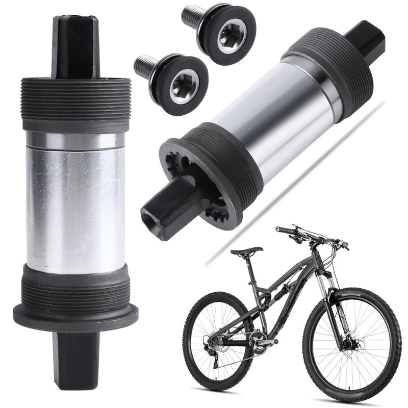 Bike Bottom Bracket Square Hole Crank Axis with Waterproof Screws High Quality Cycling Bottom Brackets Bicycle Accessory