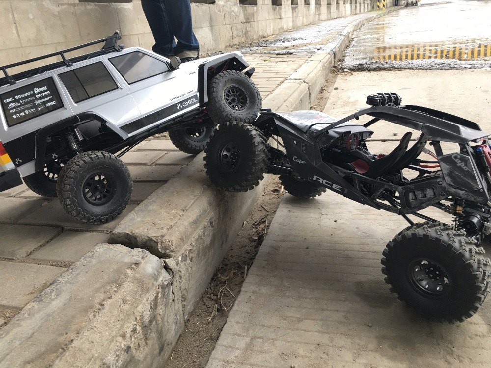 CAPO ACE1 ROCK CRAWLER 1/10 RC Auto 2,4G 4CH 4WD Rock Crawler 4x4 ...