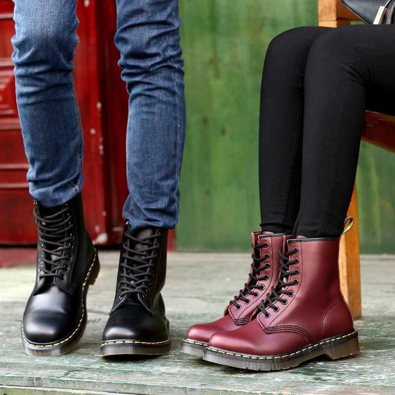 LZJ 2019 Yeni Kadın Düz yarım çizmeler Bahar Patent Deri Çizmeler Siyah dantel ayakkabı Tarama Ayakkabı Moda parti ayakkabıları boyutu 35- 43