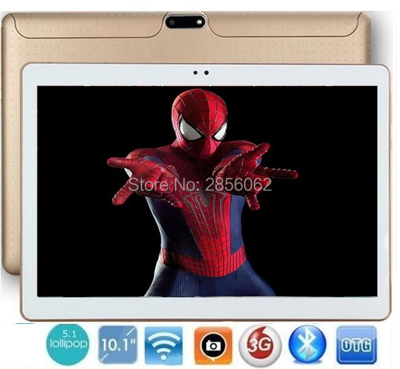 10 inch Quad Core 3G WCDMA Android tablet pc Phone Pad 1280*800 WiFi FM GPS Tablet 2GB+16GB