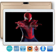 10 pulgadas quad core 3g wcdma android tablet pc phone pad 1280*800 wifi fm gps de la tableta de 2 gb + 16 gb