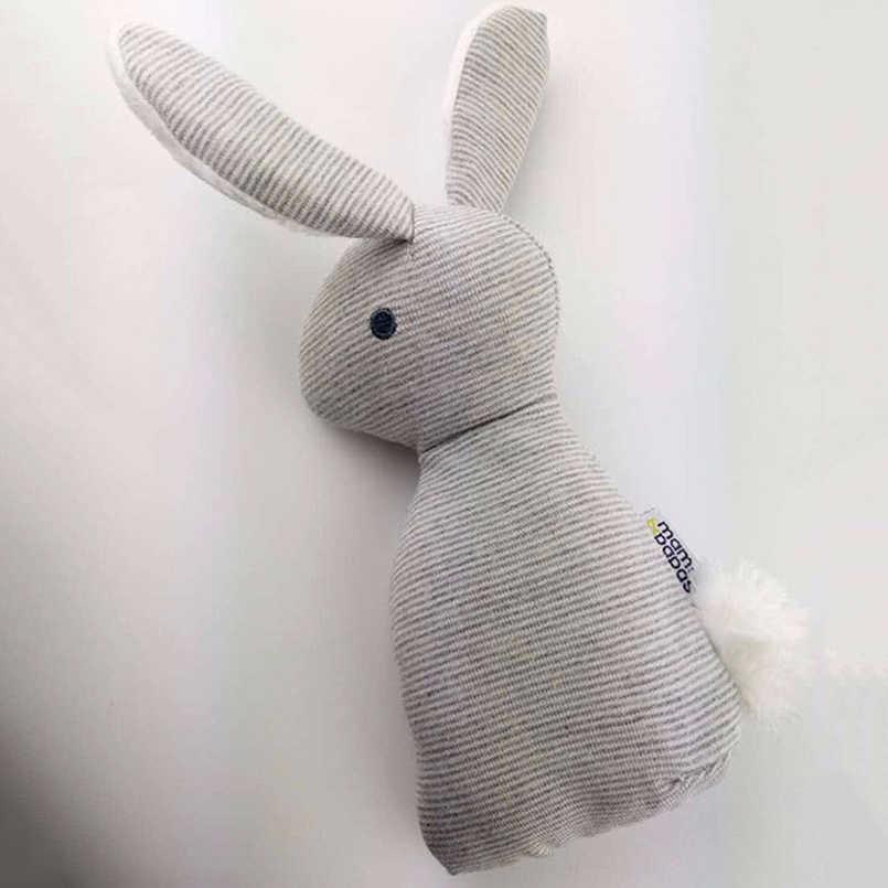 0-12 месяцев BB Кролик Детские плюшевые игрушки Кролик Погремушки-мобильные телефоны младенческое кольцо колокольчик кроватка кровать Висячие животные Bebe игрушка детская кукла