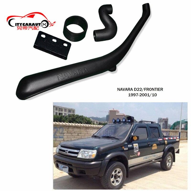 CITYCARAUTO NAVARA D22 FRONTIER LLDPE EXTERIOR AUTO PARTS AIR INTAKE PARTS AIR FRESH SNOKEL FIT FOR  NISSAN NAVARA D22 FRONTIER