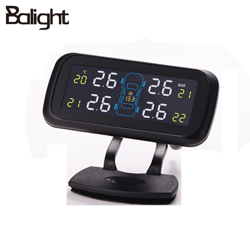 Balight Brand Profession Auto Tire Pressure Alarm Sensor 4 Internal Sensors Tire Pressure Monitoring System TPMS Diagnostic Tool carchet tpms car tire pressure monitoring system auto diagnostic tool tire alarm intelligent system 4 external sensor for toyota