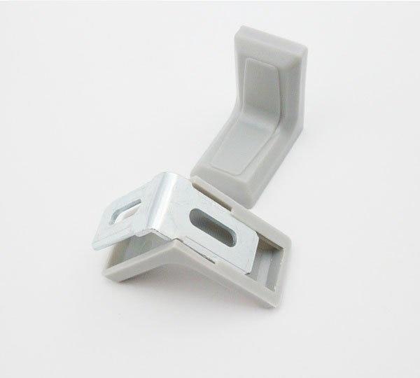 Furniture Fitting Kitchen Cabinet Corner Brackets Furniture Grade Iron Connector Fitting 50Pcs/Pack