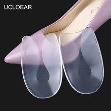 UCLOEAR Silicone Gel U-Shape Heel Cushions For Shoes Plantar Fasciitis Heel Prot