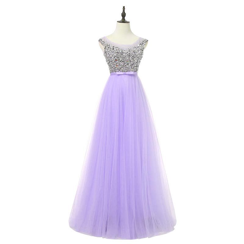 luxury long style dress 10