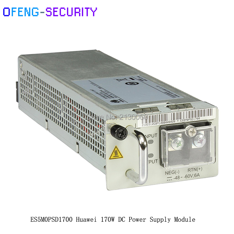 Original HUAWEI ES5M0PSD1700 With 170w DC Power Module For S5700series Or S6720S-26Q-EI-24S
