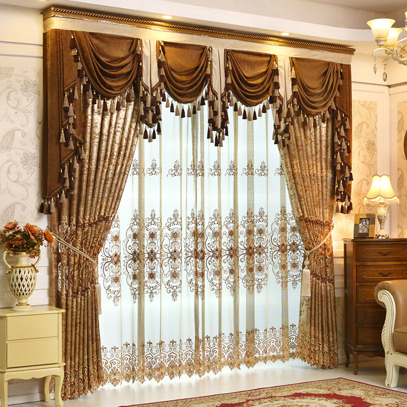 Classic Luxury Exquisite Embroidered Yarn Stereoscopic
