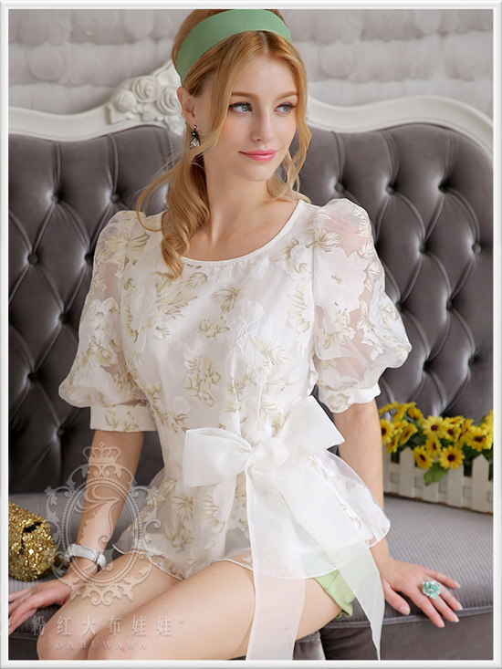 Dabuwawa primavera otoño tops ocasionales adelgazan moda casual mujeres blusa ro
