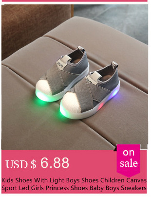 c0bc0a1dbd Kids Shoes With Light Led chaussure LED Enfant New Autumn Sport Soft  Fashion Girls Boys Shoes Running Girls Sneakers Size 21-30