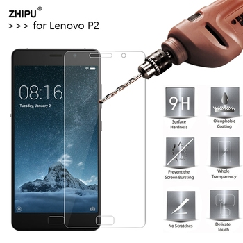 2.5D 0.26mm 9H Premium Tempered Glass For Lenovo Vibe P2 Screen Protector Toughened protective film For Lenovo P2 Glass