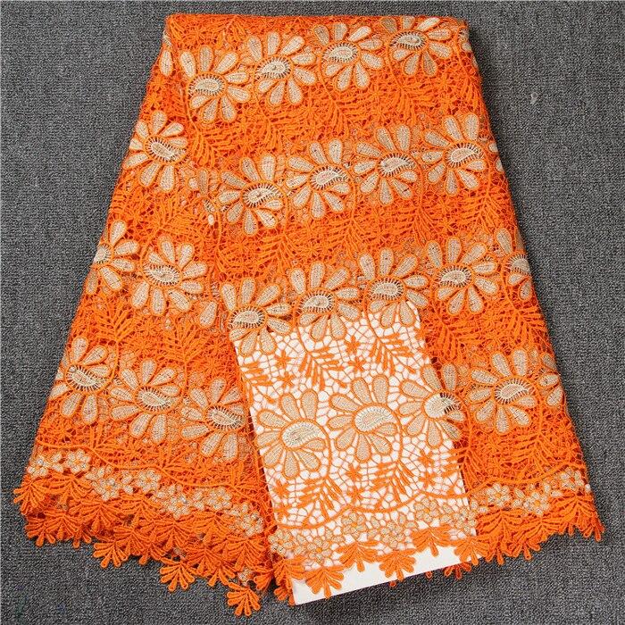 Новое поступление гипюр кружевной ткани хорошее качество гипюр кружевной ткани 5 ярдов шнур водорастворимым кружева a32d055