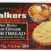 Walkers Shortbread Stem Ginger Shortbread, 6.2-Ounce Boxes (Pack of 4) talkingrain sparkling water lemon lime 16 9 ounce pack of 24