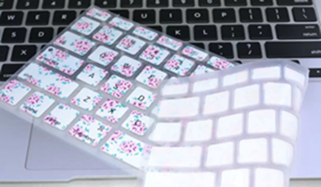 Floral Flower Silicone Keyboard Cover Skin For Macbook Pro Air Retina 13 15 17