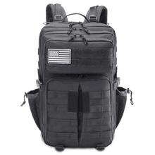 45L Military Tactical Assault Pack Backpack 900D Army Molle Waterproof Large Rucksack for Outdoor Hiking Camping Climbing