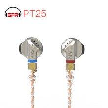 Наушники вкладыши seper PT25, плоские беруши со сменным кабелем MMCX, PT15, DT6, ZSN, DT8, IM1, T2