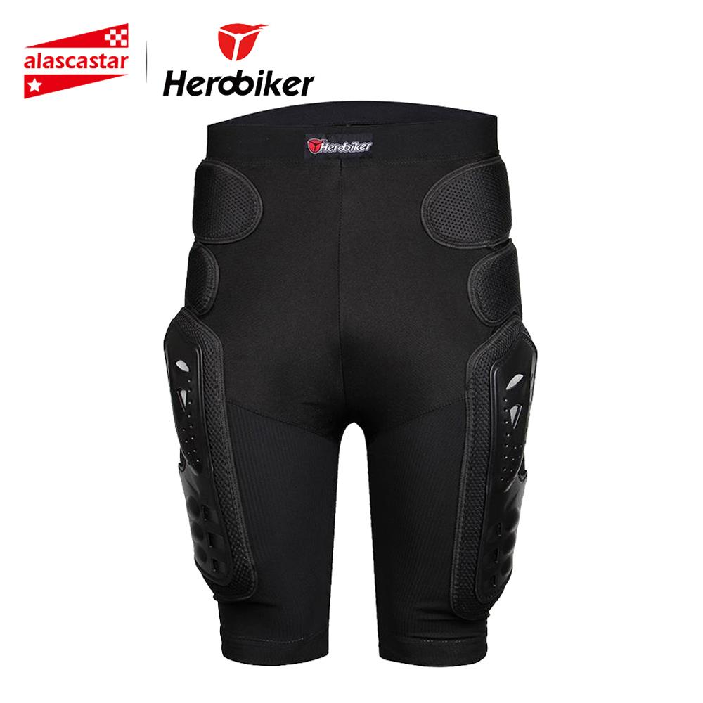HEROBIKER Motocross Off-Road Downhill DH MTB Bike Skating Ski Skateboarding Armor   Shorts   Extreme Sport Protective Gear Hip Pad