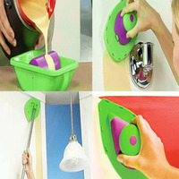 Point Paint Easy Paint Pads Point Painting Roller Tray Multifunction Tool And Sponge Set Kit Household