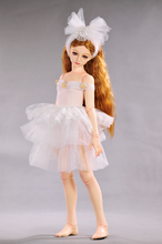 clothes for dolls fits 55 60cm 1 3 BJD doll White Swan skirts head flower